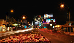 THE SUNSET STRIP - WEST HOLLYWOOD (WNDLST) Tags: california longexposure urban night losangeles cityscape nightlights hollywood southerncalifornia westhollywood hdr sunsetboulevard lightstream movementandmotion thesunsetstrip sunsetplaza