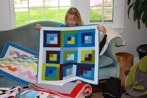 NOVA Modern Quilt Guild - Preemie Challenge 1