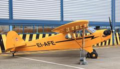 EI-AFE (EI-AMD Photos) Tags: birthday ireland dublin 6 1936 cub airport photos aviation piper 90 dub hanger 75th aerlingus flyin j3 2011 eidw eiafe eiamd