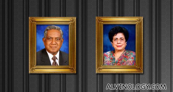 Mr and Mrs S.R. Nathan