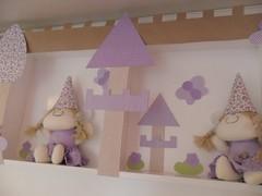 PAINEL DE FADAS (UM CONTO DE FADAS) Tags: para porta bebe kit cama princesa baba bero bailarina painel maternidade cheguei fadas lembrancinhas chaveiros higiene enxoval palaho