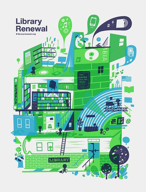 Library Renewal poster