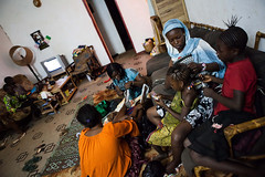 Día Internacional de la Mujer 2014 (AcnurLasAméricas) Tags: children women westafrica mali idps returnees voluntaryrepatriation returningidps