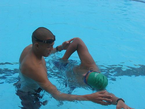 ... my Total Immersion swimming lessons with Nonoy Basa.