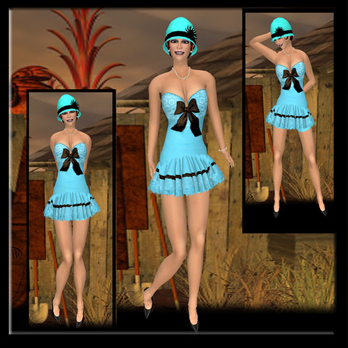 Pin Up Dolls _ Lisa Spring Freebie Dress