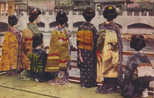 Singing Geishas par Vintage Lulu