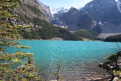 Moraine Lake (Frank Merfort) Tags: canada mountains see berge kanada banffnationalpark morainelake