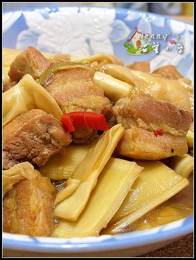 豬肉_醬燒筍肉_2