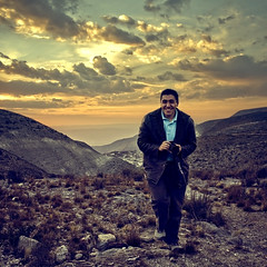 A Happy Photographer (Luis Montemayor) Tags: sunset sky clouds mexico atardecer tour desert cielo nubes desierto realdecatorce dflickr dflickr180307 fernandobailn