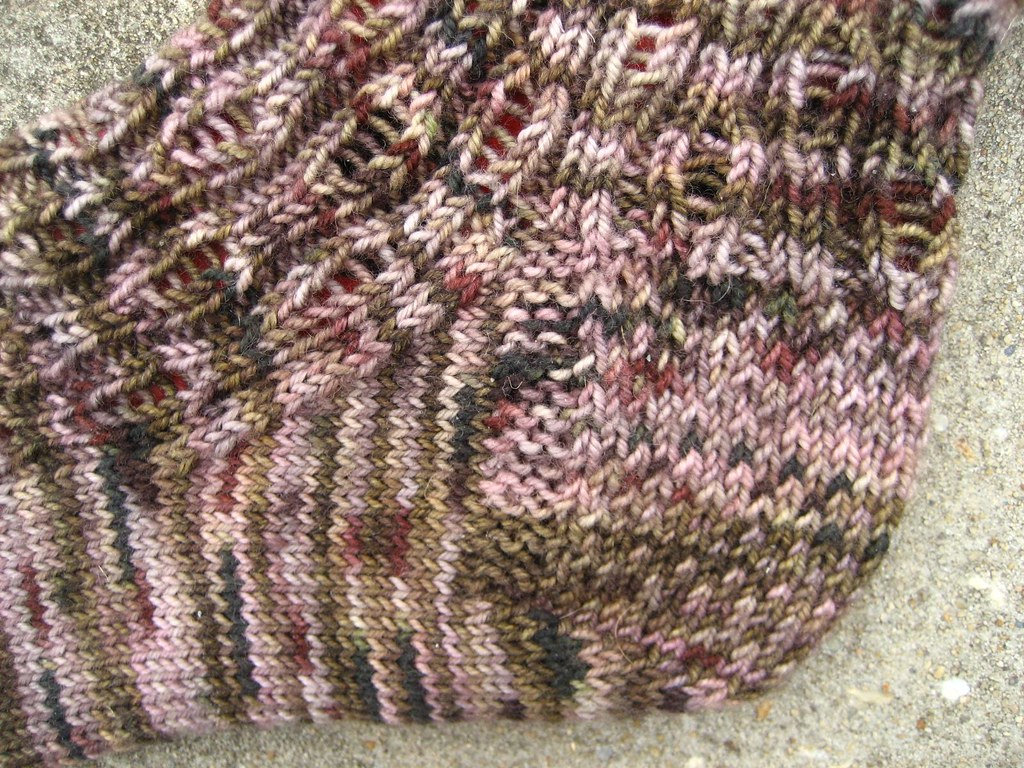 Sock Madness 2 Zombie - Heel detail