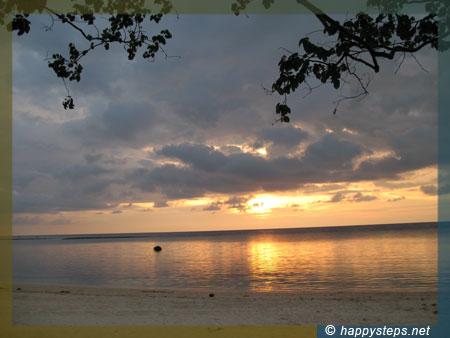 Sunset at Punta Bulata Beach Resort, Cauayan, Negros Occidental, Philippines