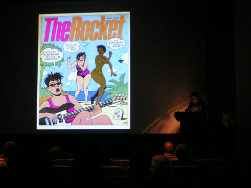 Weirdos: Fantagraphics' Larry Reid lectures at the Frye Art Museum, 04/17/08