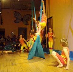 Those Crazy Kids! (alleenski) Tags: costumes wisconsin children dance seamonkeys mermaids 2008 trapeze mazomanie aerialdance mazomovementartscenter aerialocean underseatheatricalspectacle