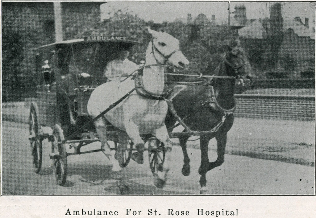 Ambulance for St Rose Hospital