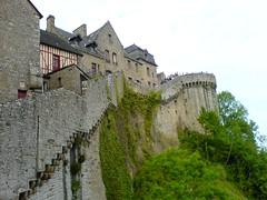 Un paseo por las murallas II (Monech) Tags: remparts murallas lemontsaintmichel