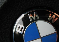 I Wish (tempest_kat) Tags: logo bmw steeringwheel