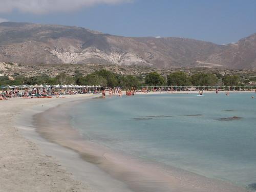 粉紅沙灘 (Elafonissi)