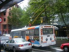 Electric Trolley Bus Wellington (maroochymax) Tags: buses trolley