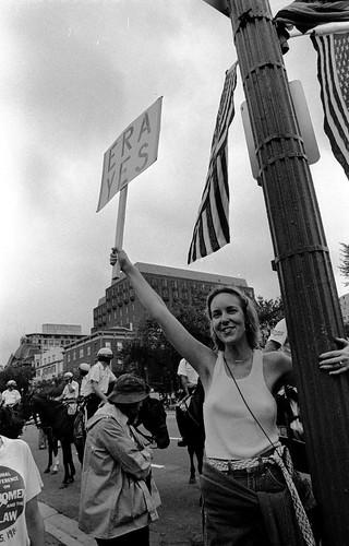 Pro ERA demo, Washington DC, 1981