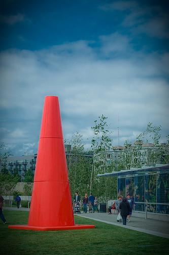Big Orange Cone