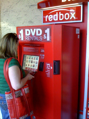 Oh, redbox, how we missed thee!