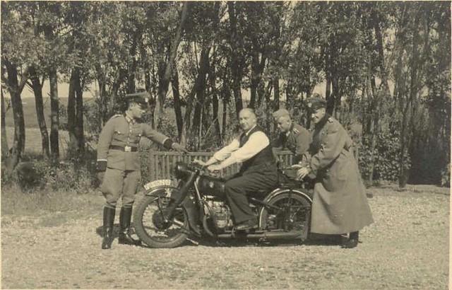 Waffen SS-humour BMW R61