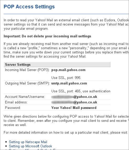 SMTP server not working for Yahoo UK accounts   Hiddentao