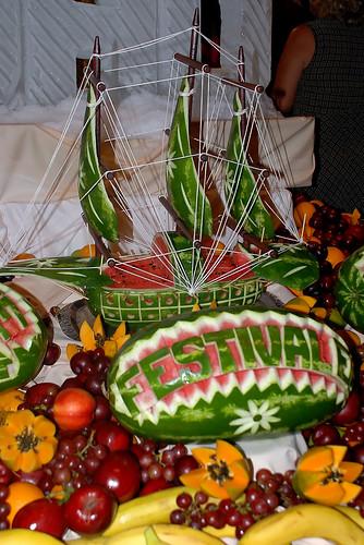 Buffet: Watermelon ship