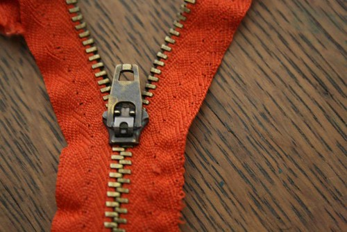 reclaimed zipper