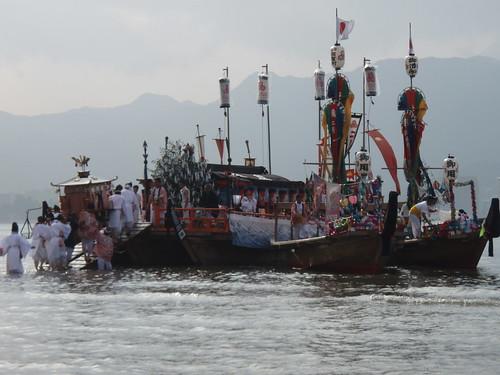Kangensai boats
