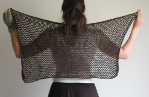 phantom shawl back