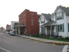 The Main Drag in Thomas, WV