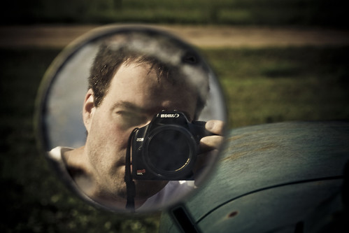 Side View Mirror Self-Portrait