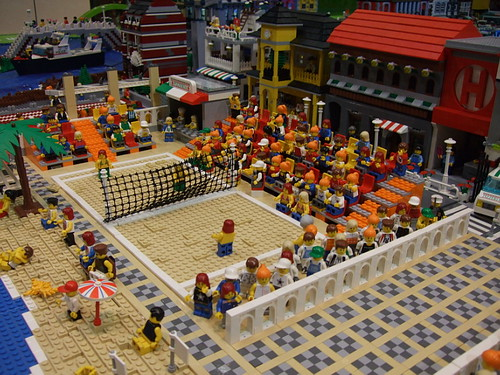 Lego Beach Volley