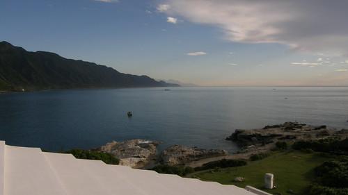 23.屋頂上當然也可以遠眺太平洋以及日出