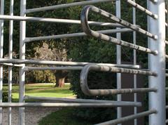 20080807_0596 turnstile (williewonker) Tags: park tree garden bars australia victoria mansion turnstile werribee twtmesh220811