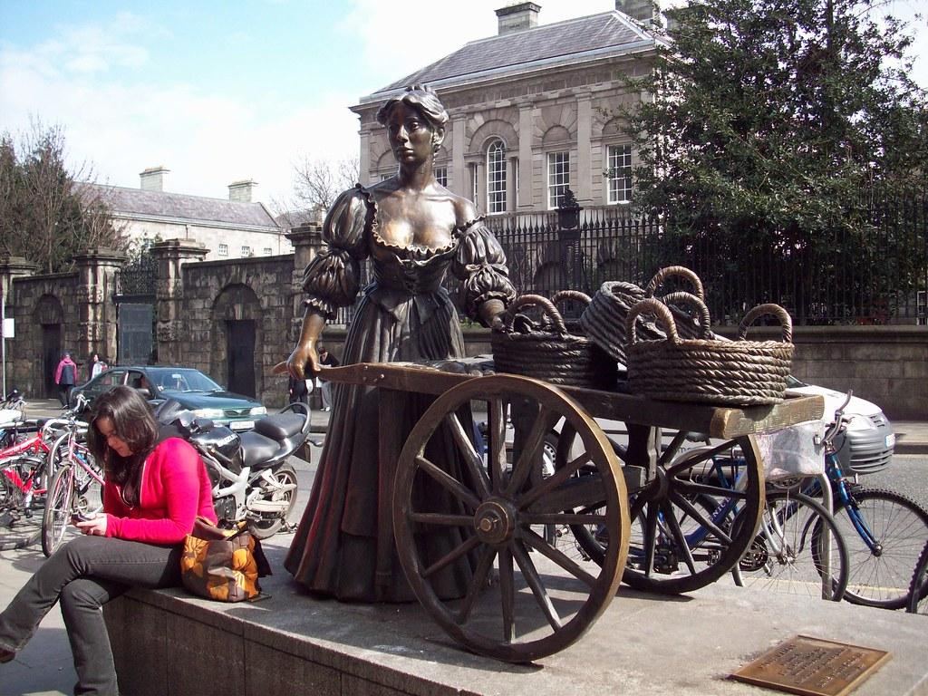100 0102 Molly Malone statue, Grafton Street, Dublin, 3 Apr 08