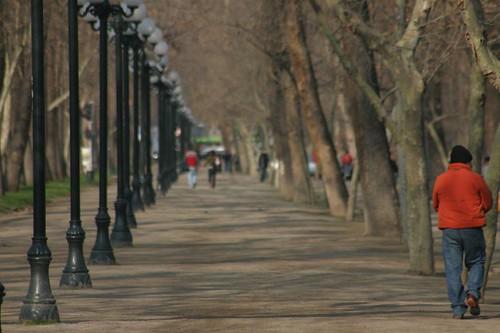 Parque Forestal, Santiago - Chile.