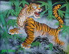 Tiger Mural Wall Mural Perfection