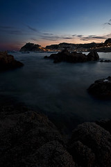 Tossa de mar (david A.F Photography) Tags: sunset españa atardecer europa europe girona catalunya costabrava cataluña tossademar espanya sigma1020mm empordá canoneos40d davidafphotography