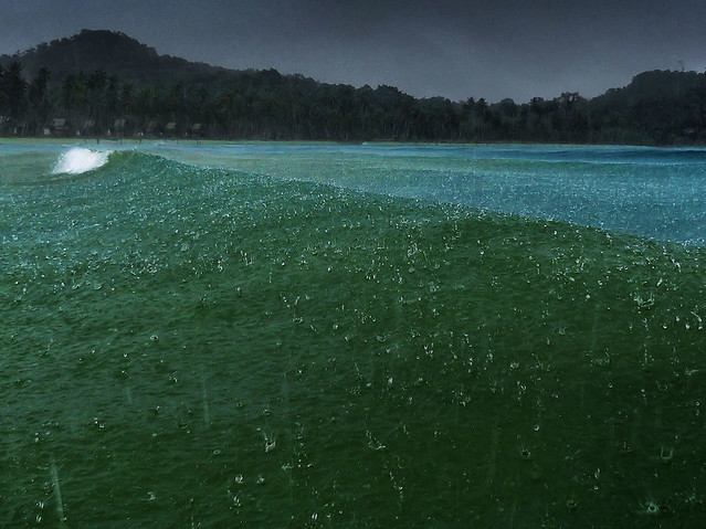 Torrential rains on Koh Kood