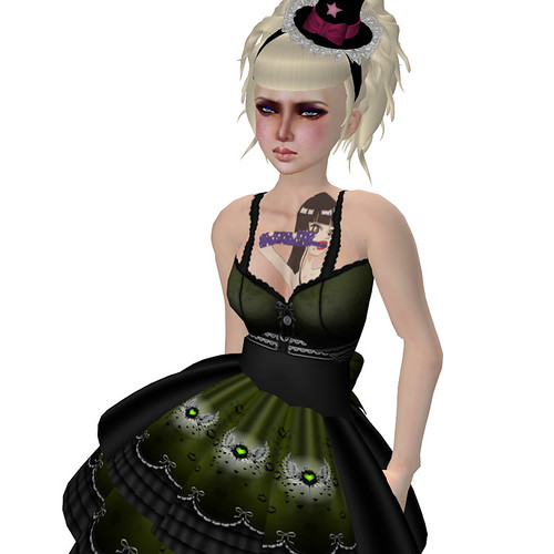 katat0nik(olive) Ghostfire Dress HAIR FAIR