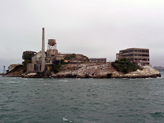 Alcatraz from Bay Cruise (marydenise6) Tags: sanfrancisco california ca seagulls water rock island bay cell prison jail alcatraz therock