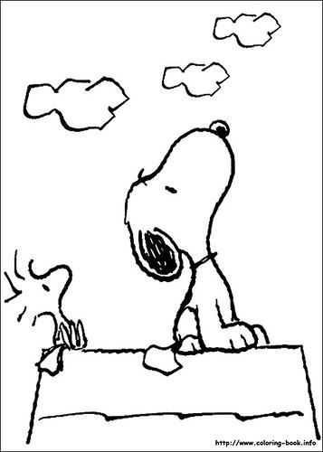 Agridulce » Blog Archive » 43 Dibujos para colorear de Snoopy