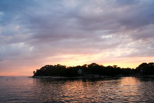 thimbles sunset