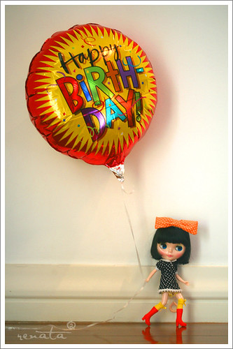 birthday ballon by r e n a t a.