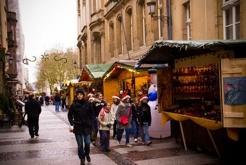 Luxembourg Xmas market