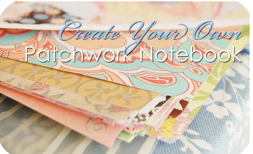 How to make a Paper Patchwork Notebook Cover!