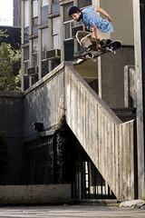 Japan (Lioskatephoto) Tags: chile santiago muro canon la skateboarding metro wizard escalera pocket catolica f4 munoz lio mark2 7020mm quamtum