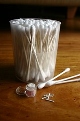 Qtips... BIG and tiny little pieces! (lili_mini) Tags: miniature mini rement qtips cottonbuds cottonswabs ministheirmoms